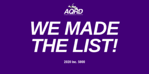 AQRD Selected for Inc. 5000 List
