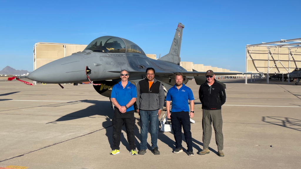 AQRD attends Heritage Flight Demonstration 2021